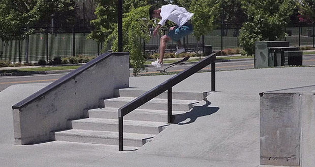Small Wheels: Miles Silvas en Mather park(Videos)