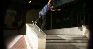 The-Berrics---Tommy-Fynn-backside-noseblunt-on-lock-patineta
